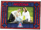 Arizona Wildcats Art Glass Picture Frame Bed & Bath