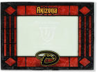 Arizona Diamondbacks Art Glass Picture Frame Bed & Bath