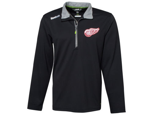 Detroit Red Wings NHL Center Ice Baselayer 1/4 Zip Jacket