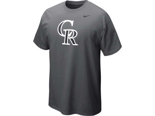 Colorado Rockies Nike MLB CG Logo T-Shirt