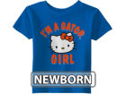 Florida Gators NCAA Newborn Just A Girl T-Shirt T-Shirts