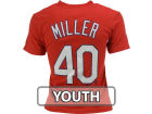 St. Louis Cardinals Shelby Miller Majestic MLB Youth Player T-Shirt T-Shirts