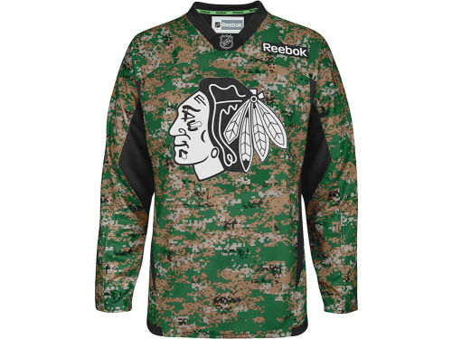 Chicago Blackhawks Reebok NHL Camo Jersey