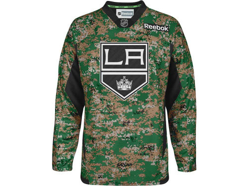 Los Angeles Kings Reebok NHL Camo Jersey