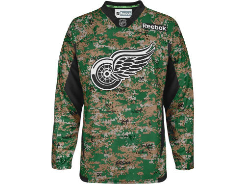 Detroit Red Wings Reebok NHL Camo Jersey