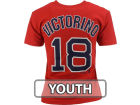 Boston Red Sox Victorino Majestic MLB Youth Player Tee T-Shirts