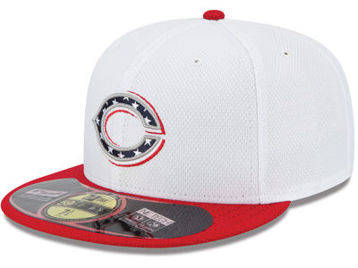 Cincinnati Reds MLB 2013 July 4th Stars & Stripes 59FIFTY Cap Hats