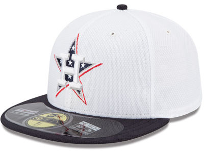 Houston Astros MLB 2013 July 4th Stars & Stripes 59FIFTY Cap Hats
