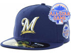 Milwaukee Brewers New Era MLB 2013 All Star Patch 59FIFTY Cap Fitted Hats