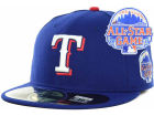 Texas Rangers New Era MLB 2013 All Star Patch 59FIFTY Cap Fitted Hats