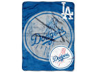 Los Angeles Dodgers Micro Raschel Blanket Bed & Bath