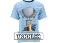 Turbo Turbo Trophy T-Shirt-Toddler T-Shirts