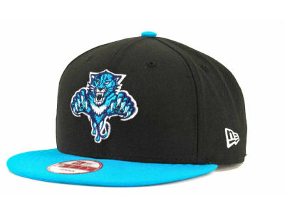 Florida Panthers NHL Blackout 9FIFTY Snapback Cap Hats
