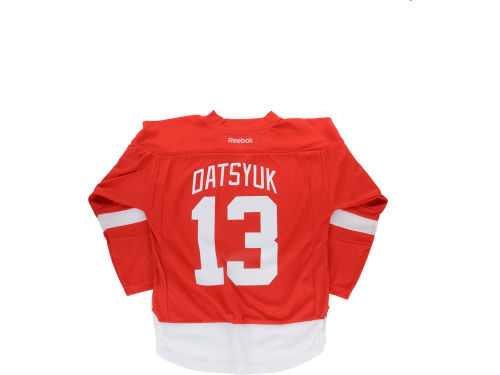 Detroit Red Wings Pavel Datsyuk Reebok NHL Youth Replica Player Jersey