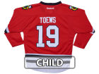 Chicago Blackhawks Jonathan Toews Reebok NHL Kids Replica Player Jersey Jerseys