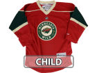 Minnesota Wild Reebok NHL Kids Replica Jersey Jerseys