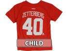 Detroit Red Wings Henrik Zetterberg Reebok NHL Kids Player T-Shirt T-Shirts