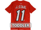 Carolina Hurricanes Eric Staal Reebok NHL Toddler Player T-Shirt T-Shirts