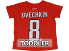 Washington Capitals Alexander Ovechkin Reebok NHL Toddler Player T-Shirt T-Shirts