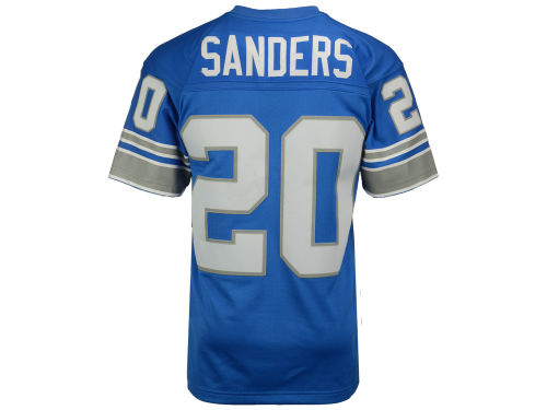 Detroit Lions Barry Sanders Mitchell and Ness NFL Replica Throwback Jersey