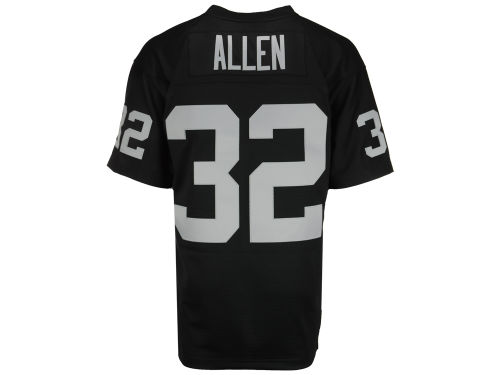Los Angeles Raiders Marcus Allen Mitchell and Ness NFL Replica Throwback Jersey