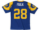 Los Angeles Rams Marshall Faulk Mitchell and Ness NFL Replica Throwback Jersey Jerseys