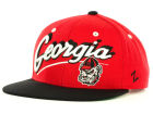 Georgia Bulldogs Zephyr NCAA Shadow Script Snap Cap Adjustable Hats
