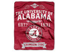 Alabama Crimson Tide The Northwest Company 50x60in Plush Throw Team Spirit Bed & Bath