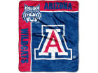 Arizona Wildcats The Northwest Company 50x60in Plush Throw Team Spirit Bed & Bath