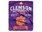 Clemson Tigers The Northwest Company 50x60in Plush Throw Team Spirit Bed & Bath