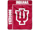 Indiana Hoosiers The Northwest Company 50x60in Plush Throw Team Spirit Bed & Bath