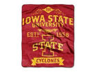 Iowa State Cyclones The Northwest Company 50x60in Plush Throw Team Spirit Bed & Bath