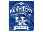 Kentucky Wildcats The Northwest Company 50x60in Plush Throw Team Spirit Bed & Bath