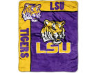 LSU Tigers The Northwest Company 50x60in Plush Throw Team Spirit Bed & Bath