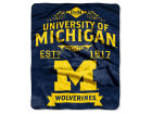 Michigan Wolverines The Northwest Company 50x60in Plush Throw Team Spirit Bed & Bath