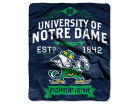 Notre Dame Fighting Irish The Northwest Company 50x60in Plush Throw Team Spirit Bed & Bath