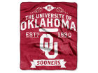 Oklahoma Sooners The Northwest Company 50x60in Plush Throw Team Spirit Bed & Bath