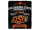 Oklahoma State Cowboys The Northwest Company 50x60in Plush Throw Team Spirit Bed & Bath
