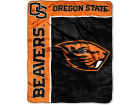 Oregon State Beavers The Northwest Company 50x60in Plush Throw Team Spirit Bed & Bath