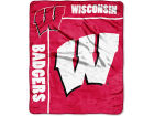 Wisconsin Badgers The Northwest Company 50x60in Plush Throw Team Spirit Bed & Bath