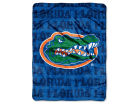 Florida Gators The Northwest Company Micro Raschel 46x60 Grunge Bed & Bath
