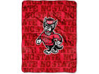 North Carolina State Wolfpack The Northwest Company Micro Raschel 46x60 Grunge Bed & Bath