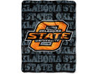 Oklahoma State Cowboys The Northwest Company Micro Raschel 46x60 Grunge Bed & Bath
