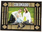 Colorado Buffaloes Art Glass Picture Frame Bed & Bath