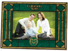 Colorado State Rams Art Glass Picture Frame Bed & Bath