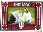 Indiana Hoosiers Art Glass Picture Frame Bed & Bath