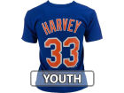 New York Mets Matt Harvey Majestic MLB Youth Player Tee T-Shirts