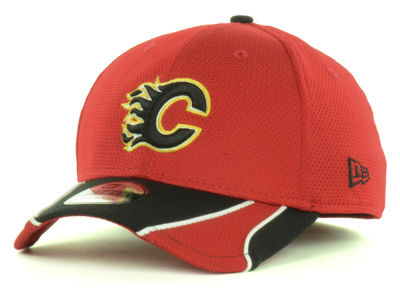 Calgary Flames NHL Training 39THIRTY Cap Hats