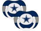 Dallas Cowboys 2-pack Pacifier Set Newborn & Infant