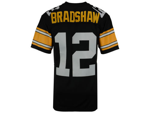 Pittsburgh Steelers Terry Bradshaw Mitchell and Ness NFL Replica Throwback Jersey